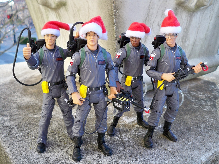 ... ghostbusters christmas ornaments Chain Smoking Scientists: Mattel's  Ghostbusters 4 Pack ghostbusters christmas ornaments ... - Ghostbusters Christmas Ornaments Christmas 2018
